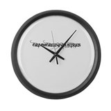 Industries Large Wall Clock