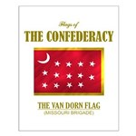 Van Dorn Flag Small Poster