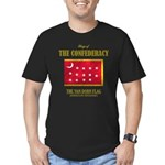 Van Dorn Flag Men's Fitted T-Shirt (dark)