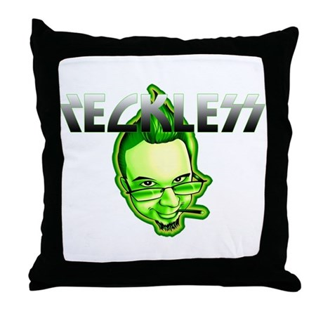 Reckless Throw Pillow