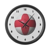 England Soccer Large Wall Clock