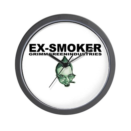 Ex-Smoker Wall Clock