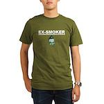 Ex-Smoker Organic Men's T-Shirt (dark)