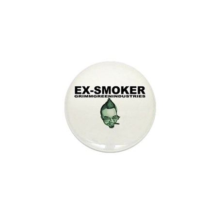 Ex-Smoker Mini Button
