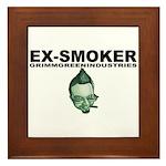 Ex-Smoker Framed Tile