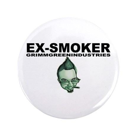 "Ex-Smoker 3.5"" Button"