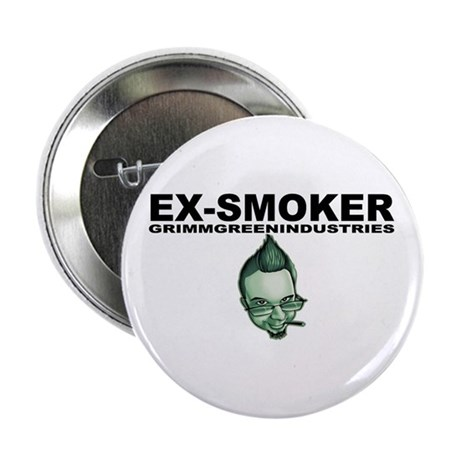 "Ex-Smoker 2.25"" Button"