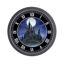 Gothic Castle Wall Clock