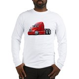 Kenworth 660 Red Truck Long Sleeve T-Shirt