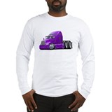 Kenworth 660 Purple Truck Long Sleeve T-Shirt