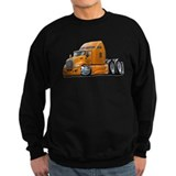Kenworth 660 Orange Truck Sweatshirt