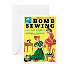 "Greeting (10)-""Home Sewing"""
