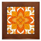 Medallion Framed Tile