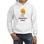 Gardening Chick Hooded Sweatshirt
