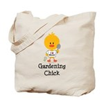 Gardening Chick Tote Bag