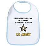 Army - Brother-in-law Serving Bib