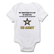 Army - Brother-in-law Serving Infant Creeper