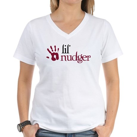 Lil' Nudger - Twilight Breaking Dawn Women's V-Nec