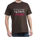 Tent Scene, Leg Hitch, Eclipse Dark T-Shirt