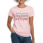 Tent Scene, Leg Hitch, Eclipse Women's Light T-Shi