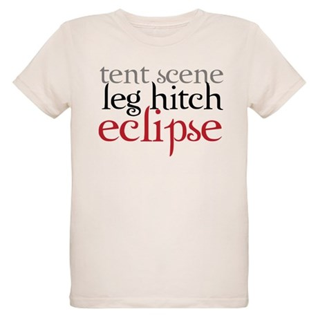 Tent Scene, Leg Hitch, Eclipse Organic Kids T-Shir