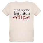 Tent Scene, Leg Hitch, Eclipse Organic Kids T-Shir