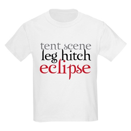 Tent Scene, Leg Hitch, Eclipse Kids Light T-Shirt