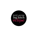 Tent Scene, Leg Hitch, Eclipse Mini Button