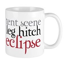 Tent Scene, Leg Hitch, Eclipse Mug
