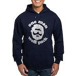One Man Wolf Pack Hoodie (dark)