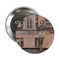 "Happy Housewife 2.25"" Button"