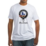 Randolph Clan Crest Badge Fitted T-Shirt