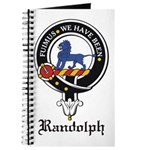 Randolph Clan Crest Badge Journal