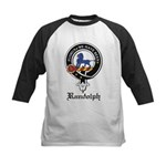 Randolph Clan Crest Badge Kids Baseball Jersey