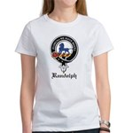 Randolph Clan Crest Badge Women's T-Shirt