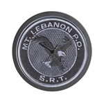 Mount Lebanon Police SRT Wall Clock