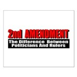 2nd Amendment Small Poster