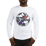 New Zealand Soccer Long Sleeve T-Shirt