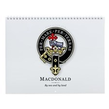 Clan MacDonald Wall Calendar