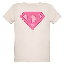 Super Pink D Logo T-Shirt