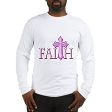 Woman of Faith Long Sleeve T-Shirt