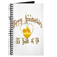 Unique 35th wedding anniversary Journal