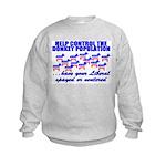 Donkey Control (Anti-Liberal) Kids Sweatshirt