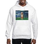Lilies5-AussieShep (#5) Hooded Sweatshirt