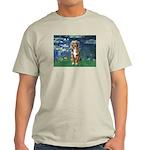 Lilies5-AussieShep (#5) Light T-Shirt