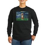 Lilies5-AussieShep (#5) Long Sleeve Dark T-Shirt
