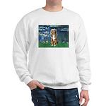 Lilies5-AussieShep (#5) Sweatshirt