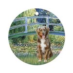 Bridge-Aussie Shep (#5) Ornament (Round)