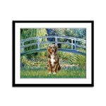 Bridge-Aussie Shep (#5) Framed Panel Print