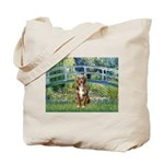 Bridge-Aussie Shep (#5) Tote Bag